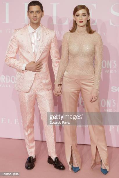 Director Eduardo Casanova and actress Ana Polvorosa attends the 'Pieles' premiere at Capitol cinema on June 7 2017 in Madrid Spain