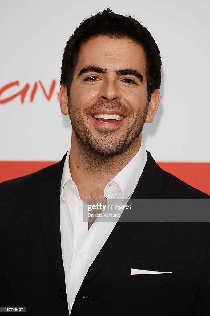 Director <a gi-track='captionPersonalityLinkClicked' href=/galleries/search?phrase=Eli+Roth&family=editorial&specificpeople=543948 ng-click='$event.stopPropagation()'>Eli Roth</a> attends the 'The Green Inferno' Photocall during the 8th Rome Film Festival at the Auditorium Parco Della Musica on November 12, 2013 in Rome, Italy.