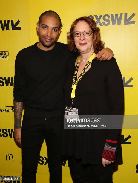 Director Elijah Bynum and SXSW Director of Film Janet Pierson attend Imperative Entertainment's 'Hot Summer Nights' SXSW world premiere at Paramount...