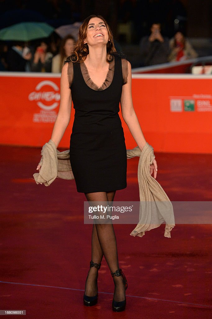 Director Elisa Amoruso attends the 'Fuoristrada' Premiere during The 8th Rome Film Festival at Auditorium Parco Della Musica on November 15, 2013 in Rome, Italy.
