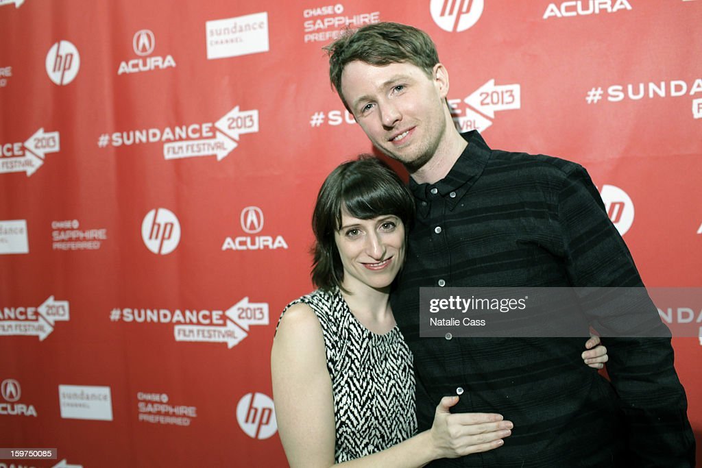 Director Eliza Hittman and Scott Cummings attend the 'It Felt Like Love' premiere at Yarrow Hotel Theater during the 2013 Sundance Film Festival on January 19, 2013 in Park City, Utah.