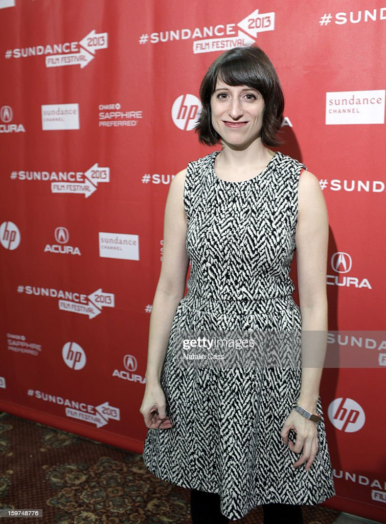 Director Eliza Hittman attends the 'It Felt Like Love' premiere at Yarrow Hotel Theater during the 2013 Sundance Film Festival on January 19, 2013 in Park City, Utah.