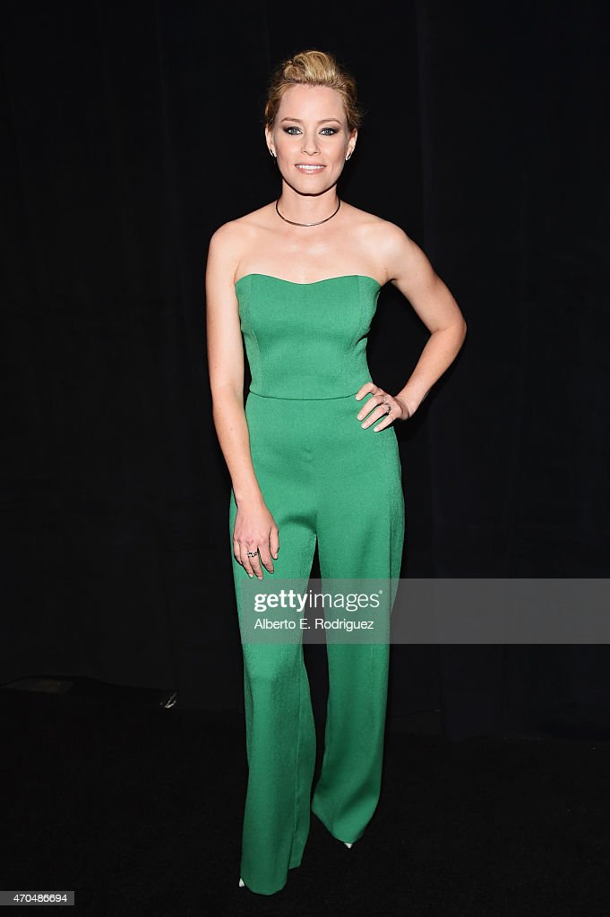 "Director Elizabeth Banks attends CinemaCon 2015 Gala Opening Night Event: Universal Pictures and Director Elizabeth Banks Invite You to the Industry Premiere of ""Pitch Perfect 2"" at The Colosseum at Caesars Palace during CinemaCon, the official convention of the National Association of Theatre Owners, on April 20, 2015 in Las Vegas, Nevada."