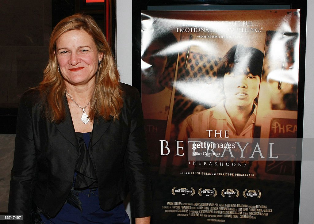 Director Ellen Kuras attends the premiere 'The Betrayal ' at The Paley Center for Media on November 18 2008 in New York City