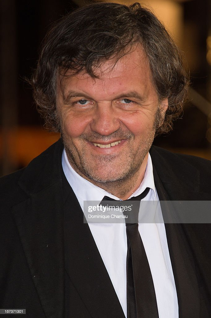 Director <a gi-track='captionPersonalityLinkClicked' href=/galleries/search?phrase=Emir+Kusturica&family=editorial&specificpeople=210555 ng-click='$event.stopPropagation()'>Emir Kusturica</a> arrives to the Tribute To Chinese Director Zhang Yimou during the 12th International Marrakech Film Festival on December 2, 2012 in Marrakech, Morocco.