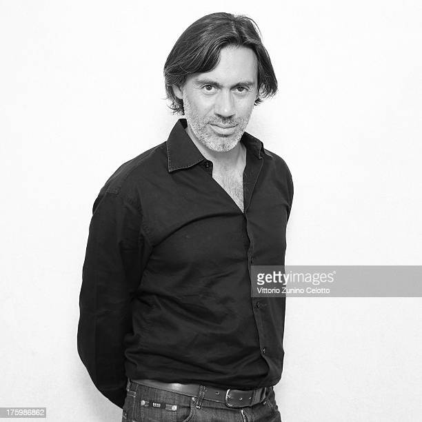 Director Emmanuel Mouret poses for a portrait during the 66th Locarno Film Festival on August 11 2013 in Locarno Switzerland
