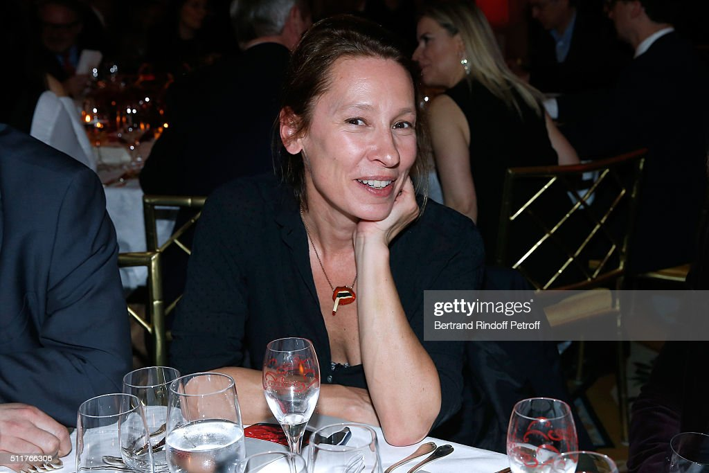 Director <a gi-track='captionPersonalityLinkClicked' href=/galleries/search?phrase=Emmanuelle+Bercot&family=editorial&specificpeople=2147740 ng-click='$event.stopPropagation()'>Emmanuelle Bercot</a> attends the 'Diner des Producteurs' - Producer's Dinner - Cesar 2016 at Four Seasons Hotel George V on February 22, 2016 in Paris, France.