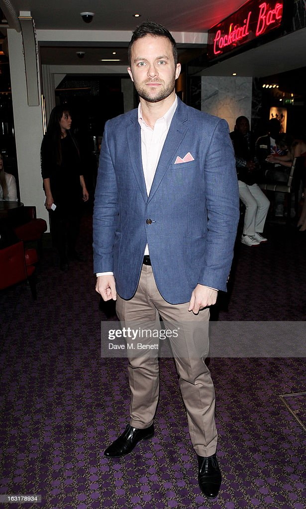 Director Eran Creevy attends an after party following the 'Welcome To The Punch' UK Premiere at the Hippodrome Casino on March 5, 2013 in London, England.