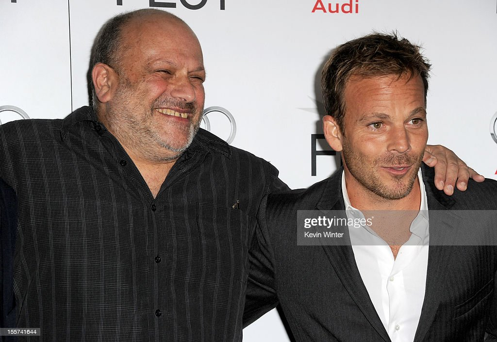 Director <a gi-track='captionPersonalityLinkClicked' href=/galleries/search?phrase=Eran+Riklis&family=editorial&specificpeople=4872843 ng-click='$event.stopPropagation()'>Eran Riklis</a> (L) and actor <a gi-track='captionPersonalityLinkClicked' href=/galleries/search?phrase=Stephen+Dorff&family=editorial&specificpeople=206430 ng-click='$event.stopPropagation()'>Stephen Dorff</a> arrive at the 'Zaytoun' screening during AFI Fest 2012 presented by Audi at Grauman's Chinese Theatre on November 7, 2012 in Hollywood, California.