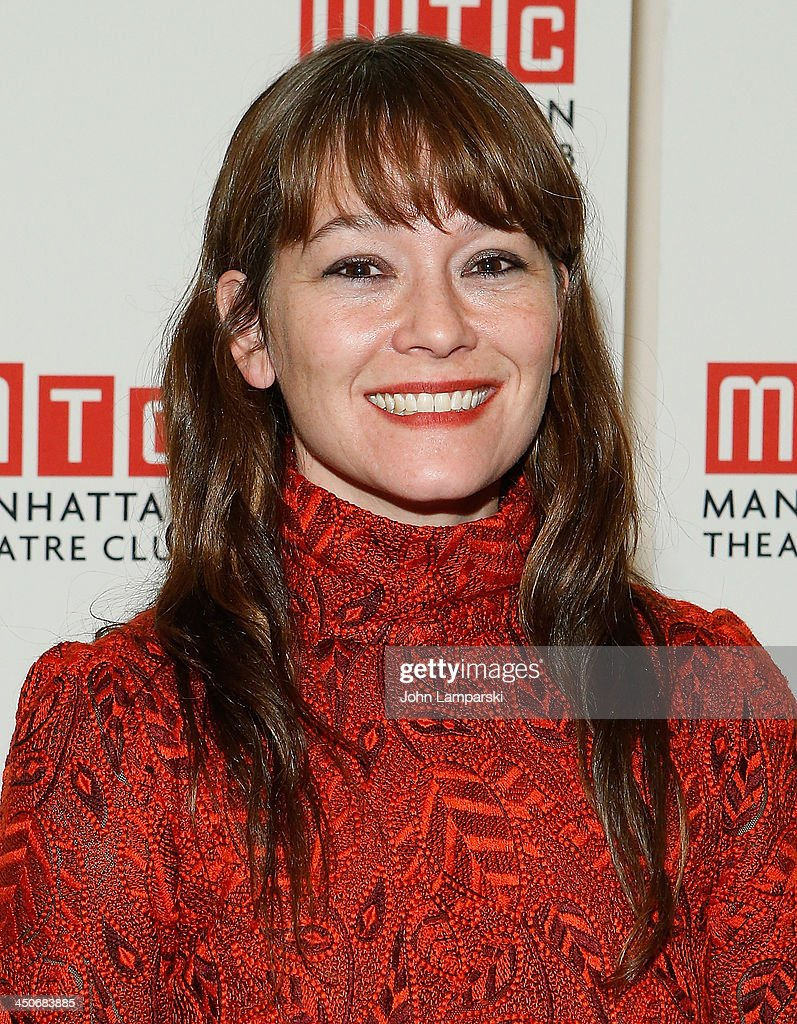 Director <a gi-track='captionPersonalityLinkClicked' href=/galleries/search?phrase=Erica+Schmidt&family=editorial&specificpeople=5085352 ng-click='$event.stopPropagation()'>Erica Schmidt</a> attends the 'Taking Care Of Baby' Opening Night at New York City Center on November 19, 2013 in New York City.