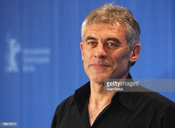 Director Erick Zonca attends the 'Julia' photocall during day three of the 58th Berlinale International Film Festival held at the Grand Hyatt Hotel...