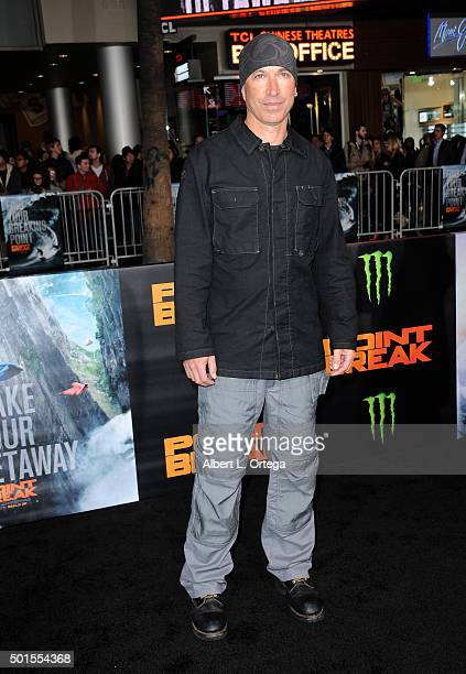 Director Ericson Core arrives for the Premiere Of Warner Bros Pictures' 'Point Break' held at TCL Chinese Theatre on December 15 2015 in Hollywood...