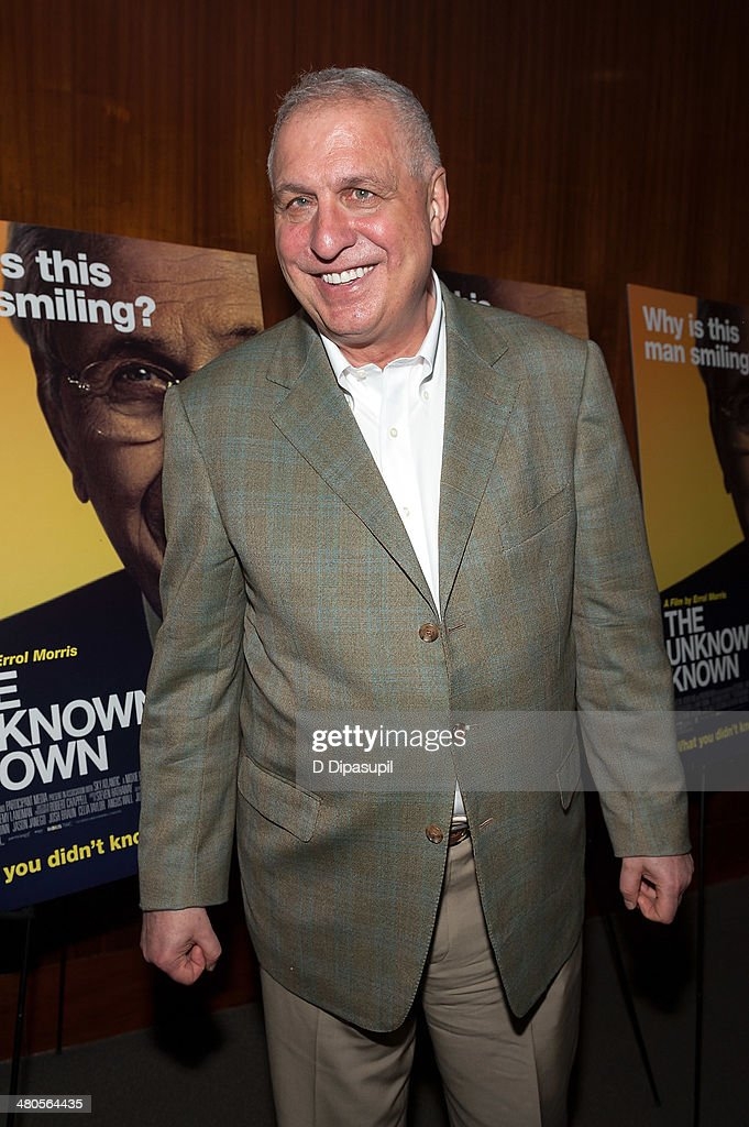 Director <a gi-track='captionPersonalityLinkClicked' href=/galleries/search?phrase=Errol+Morris&family=editorial&specificpeople=3078362 ng-click='$event.stopPropagation()'>Errol Morris</a> attends 'The Unknown Known' screening at the Museum Of Arts And Design on March 25, 2014 in New York City.