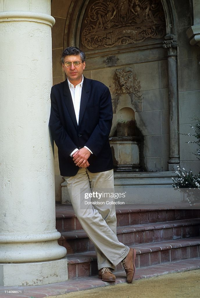 Director <a gi-track='captionPersonalityLinkClicked' href=/galleries/search?phrase=Errol+Morris&family=editorial&specificpeople=3078362 ng-click='$event.stopPropagation()'>Errol Morris</a> poses for a portrait in 1992 in Los Angeles, California.