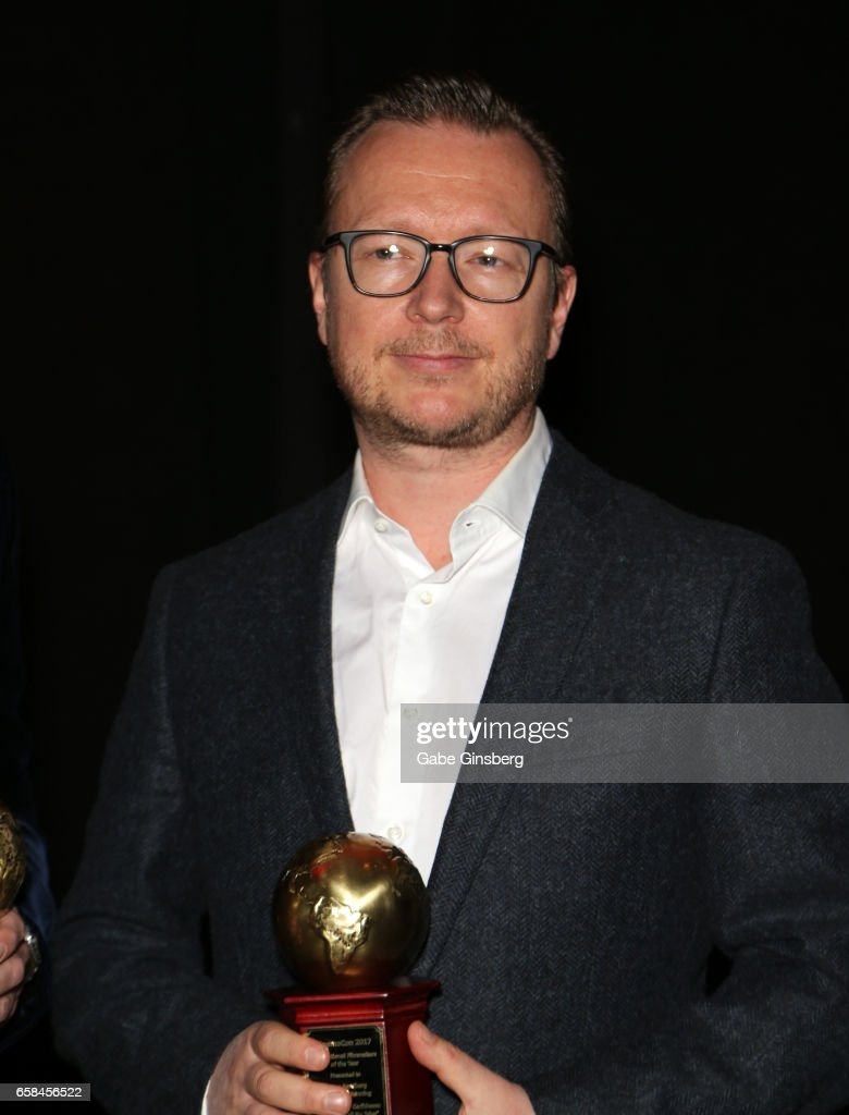 Director Espen Sandberg, co-recipient of the International Filmmakers of the Year award for the movie 'Pirates of the Caribbean: Dead Men Tell No Tales,' attends the International Day Lunch durng CinemaCon at Caesars Palace on March 27, 2017 in Las Vegas, United States.