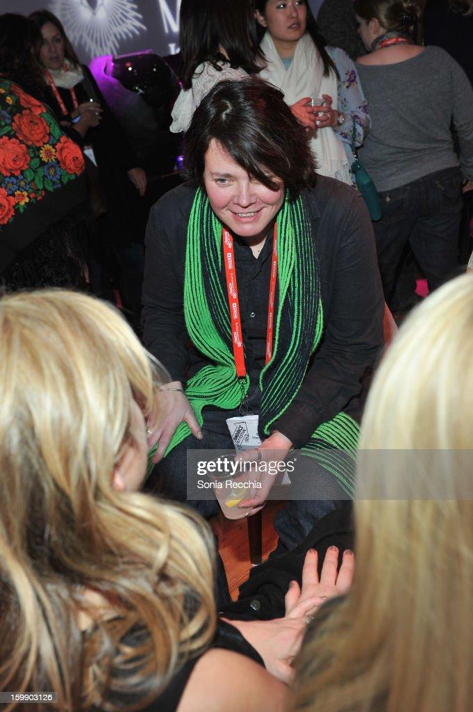 Director Eva Weber attends the Sundance Institute Mahindra Global Filmmaking Award Reception at Sundance House on January 22, 2013 in Park City, Utah.