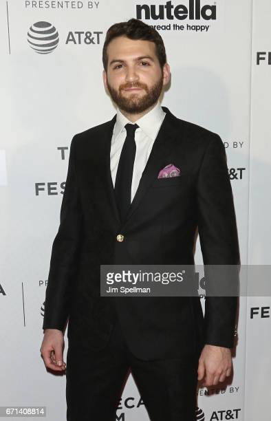 Director Evan Ari Kelman attends the Shorts Program New York Group Therapy during the 2017 Tribeca Film Festival at Regal Battery Park Cinemas on...