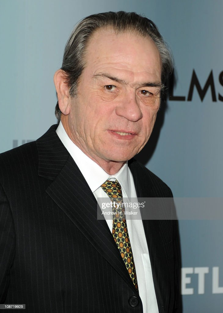 Director, executive producer and actor Tommy Lee Jones attends the HBO Films & The Cinema Society screening of 'Sunset Limited' at the Time Warner Screening Room on February 1, 2011 in New York City.