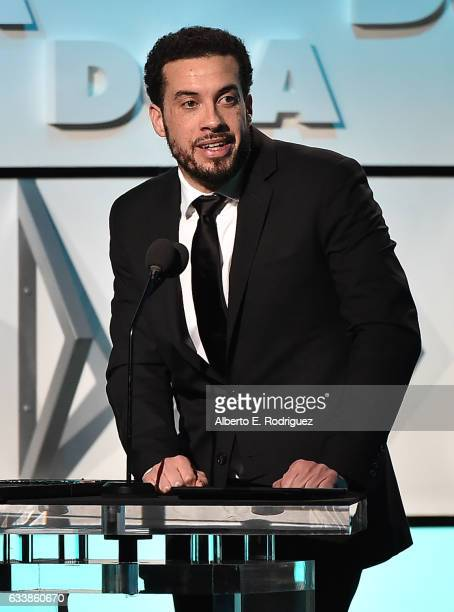 Director Ezra Edelman accepts the Outstanding Directorial Achievement in Documentary for 2016 award for 'OJ Made in America' onstage during the 69th...