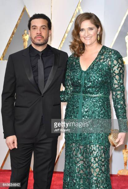 Director Ezra Edelman and producer Caroline Waterlow attend the 89th Annual Academy Awards at Hollywood Highland Center on February 26 2017 in...
