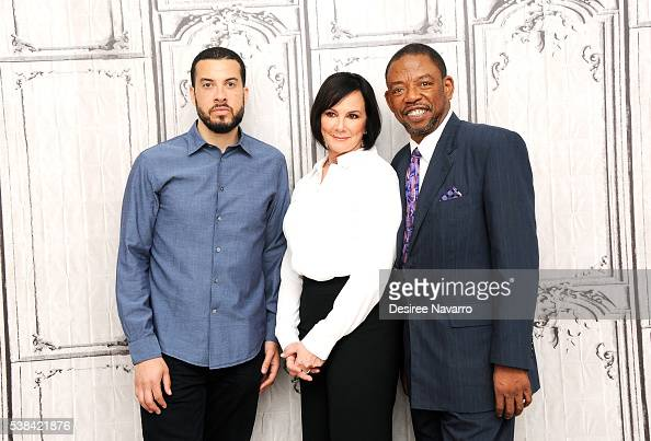 Director Ezra Edelman prosecutor Marcia Clark and attorney Carl Douglas discuss ESPN Films documentary 'OJ Made in America' during AOL Build Speaker...