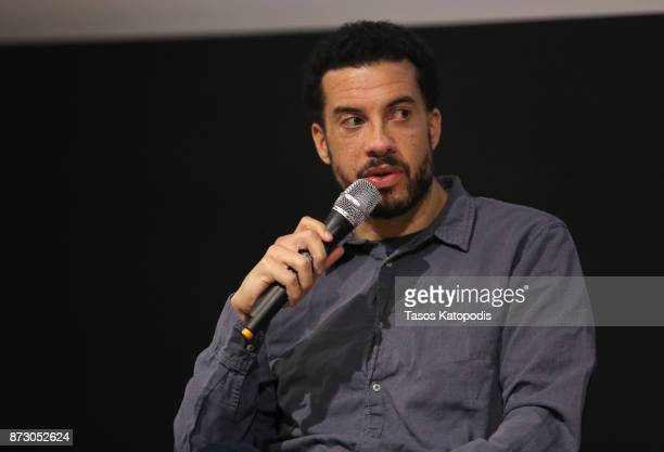 Director Ezra Edelman speaks onstage at the 'OJ Made in America' screening and QA at Vinegar Hill Theatre during the 30th Annual Virginia Film...