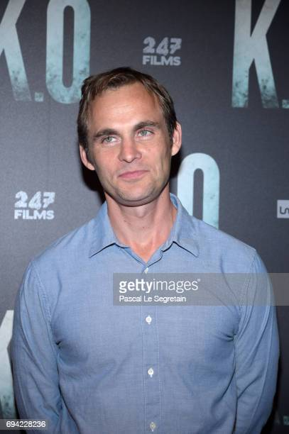 Director Fabrice Gobert attends KO Premiere at Gaumont Capucines on June 9 2017 in Paris France