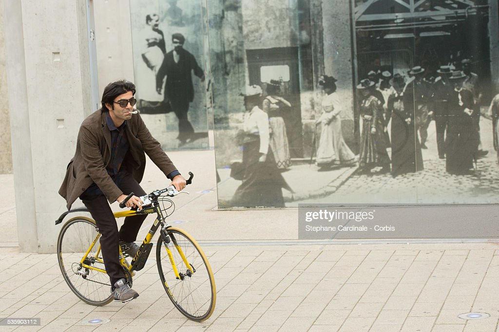 Director Fatih Akin attends the Remake of the 1st Movie of the Lumiere Brothers , during the 5th Lumiere Film Festival, in Lyon.