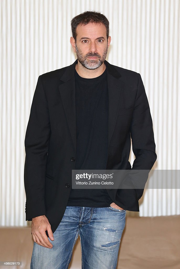 Director Fausto Brizzi attends 'Indovina Chi Viene A Natale' photocall on December 13, 2013 in Milan, Italy.