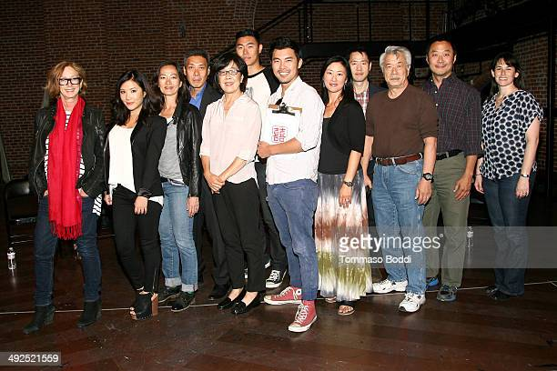 Director Feature Film Program at Sundance Institute Michelle Satter actors Ally Maki Rosalind Chao Francois Chau Sharon Omi Charles Chu Director...