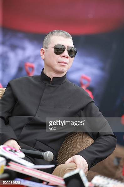 Director Feng Xiaogang attends the opening ceremony of Beijing Street in the Mission Hill HBrothers Feng Xiaogang Movie Theme Town on December 22...