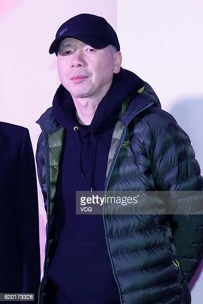 Director Feng Xiaogang attends the premiere of director Liu Yulin's film 'Someone to Talk To' on November 1 2016 in Beijing China