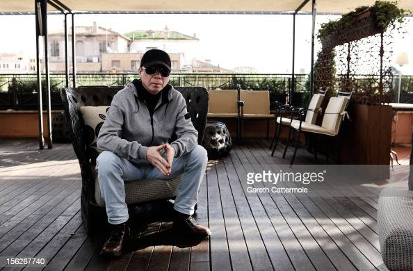 Director Feng Xiaogang during the ''Back To 1942' portrait session at the Hotel Bernini Bristol as part of the 7th Rome Film Festival on November 12...