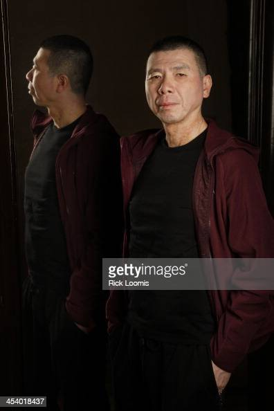 Director Feng Xiaogang is photographed for Los Angeles Times on October 31 2013 in Los Angeles California PUBLISHED IMAGE CREDIT MUST READ Rick...