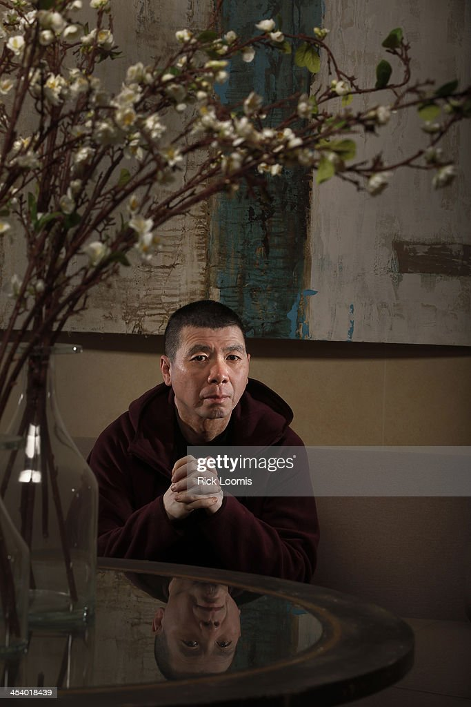 Director <a gi-track='captionPersonalityLinkClicked' href=/galleries/search?phrase=Feng+Xiaogang&family=editorial&specificpeople=537488 ng-click='$event.stopPropagation()'>Feng Xiaogang</a> is photographed for Los Angeles Times on October 31, 2013 in Los Angeles, California. PUBLISHED IMAGE.
