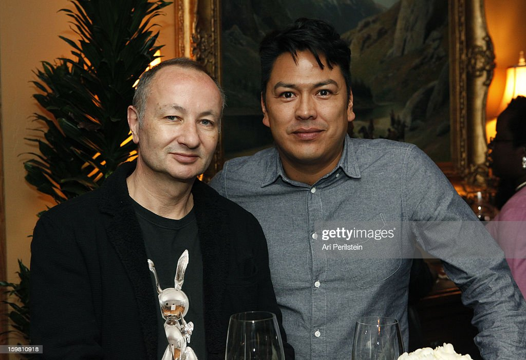 Director Fenton Bailey and Eugene Hernandez attend the HBO Documentary Films Sundance Party on January 20, 2013 in Park City, Utah.
