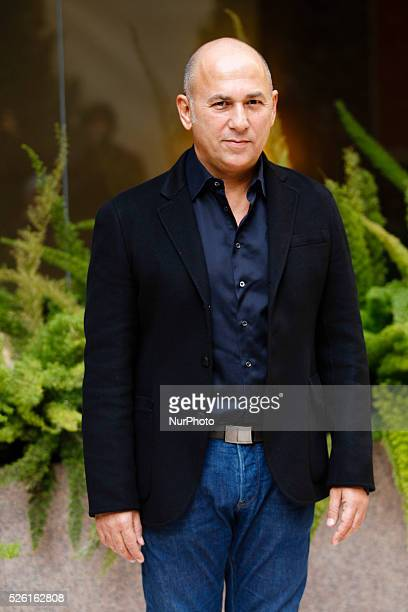 Director Ferzan Ozpetek attends 'Fasten your Seatbelts' photocall in Rome Visconti Palace