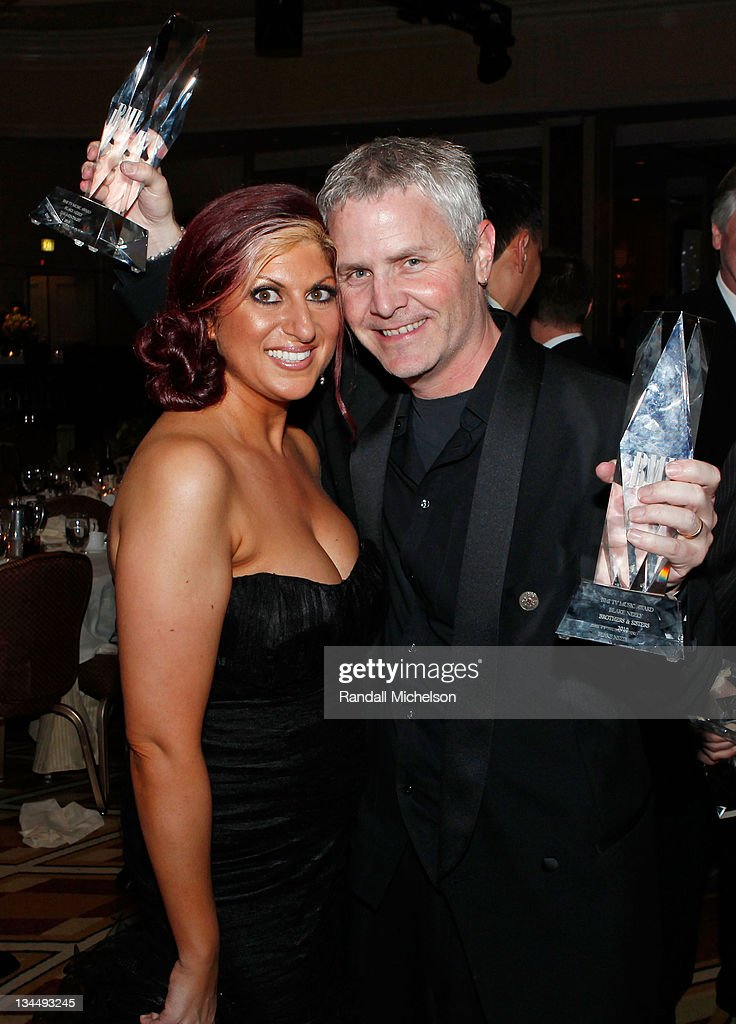 Director Film/TV BMI Anne Cecere and composer Blake Neely pose during the 2010 BMI Film/TV Awards held at the Beverly Wilshire Hotel on May 19, 2010 in Beverly Hills, California.