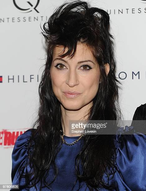 Director Floria Sigismondi attends the premiere of 'The Runaways' at Landmark Sunshine Cinema on March 17 2010 in New York City