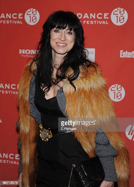 Director Floria Sigismondi attends 'The Runaways' premiere during the 2010 Sundance Film Festival at EcclesÊCenter Theatre on January 24 2010 in Park...