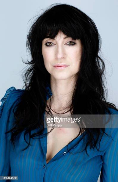 Director Floria Sigismondi poses for a portrait during the 2010 Sundance Film Festival held at the WireImage Portrait Studio at The Lift on January...