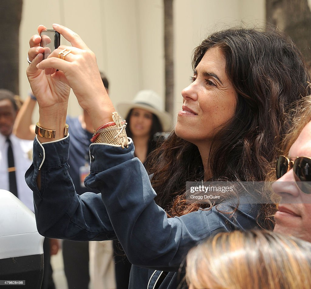 Director Francesca Gregorini attend Ringo Starr's birthday fan gathering at Capitol Records on July 7, 2015 in Hollywood, California.