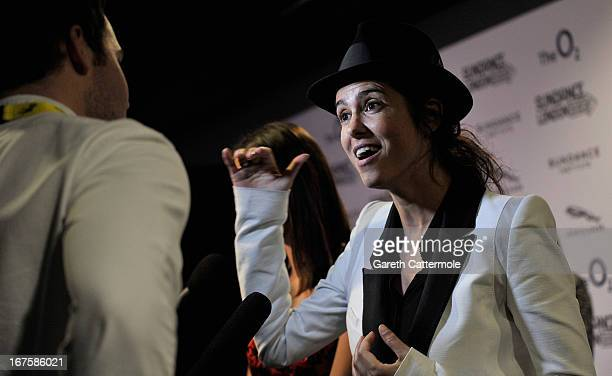 Director Francesca Gregorini attends the 'Emanuel and the Truth About Fishes' screening during the Sundance London Film And Music Festival 2013 at...