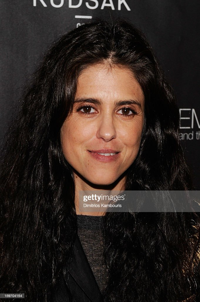 Director <a gi-track='captionPersonalityLinkClicked' href=/galleries/search?phrase=Francesca+Gregorini&family=editorial&specificpeople=1674677 ng-click='$event.stopPropagation()'>Francesca Gregorini</a> attends The Next Generation Filmmaker Dinner Series Presents 'Emanuel And The Truth About Fishes' on January 18, 2013 in Park City, Utah.