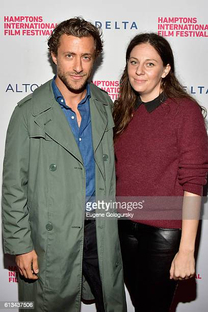 Director Francesco Carrozzini and producer Steph Scire attend the Franca Chaos and Creation screaning during the Hamptons International Film Festival...