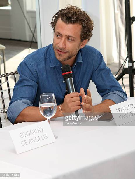 Director Francesco Carrozzini attends the Cinema Italian Style press conference at Mr C Beverly Hills on November 16 2016 in Beverly Hills California