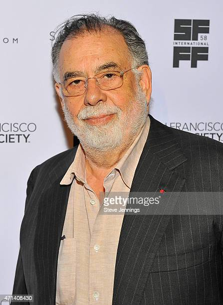 Director Francis Ford Coppala attends the Film Society Awards at the 58th San Francisco International Film Festival at The Armory on April 27 2015 in...