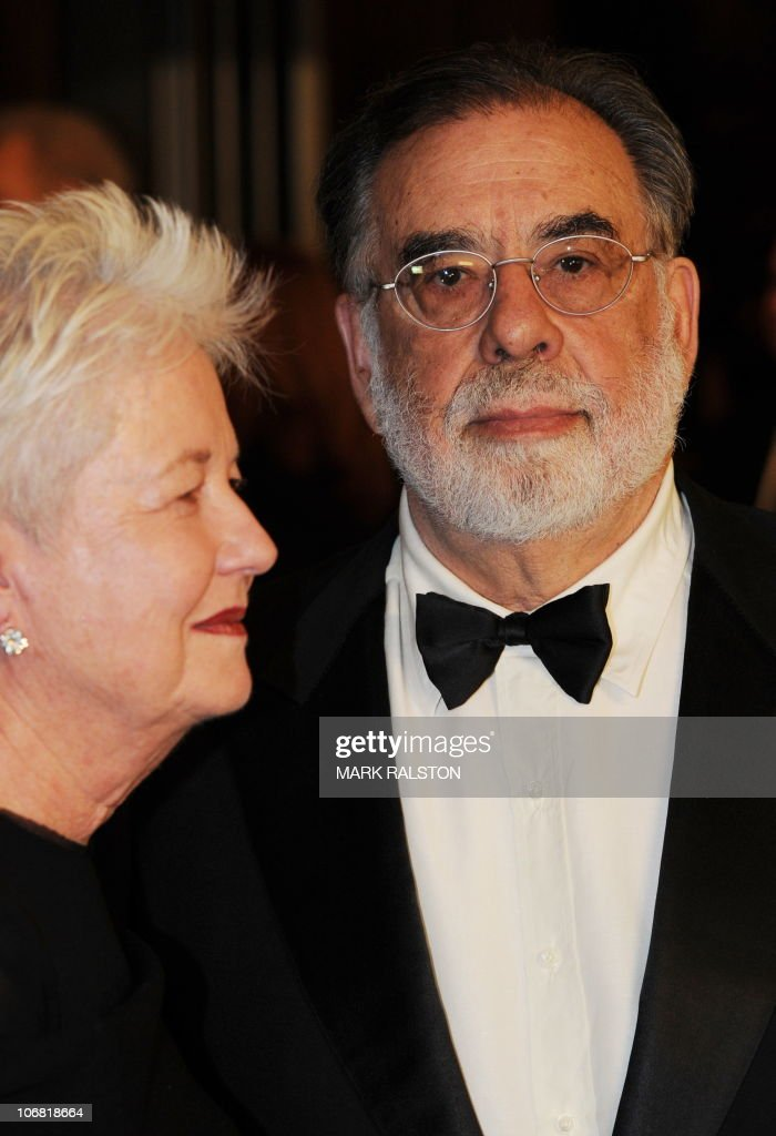Director Francis Ford Coppola arrives on the red carpet for the 2010 Oscars Governors Awards at the Hollywood and Highland Center in Hollywood on November 13, 2010. AFP PHOTO/Mark RALSTON