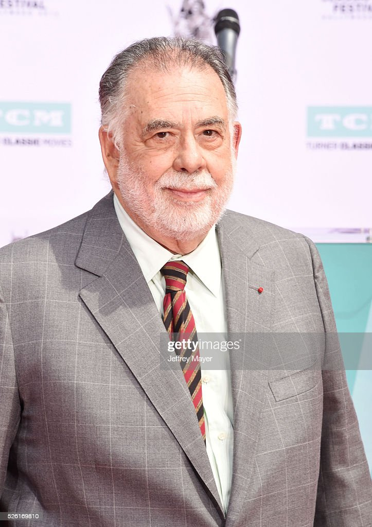 Director <a gi-track='captionPersonalityLinkClicked' href=/galleries/search?phrase=Francis+Ford+Coppola&family=editorial&specificpeople=204241 ng-click='$event.stopPropagation()'>Francis Ford Coppola</a> attends his Hand and Footprint Ceremony at TCL Chinese Theatre IMAX on April 29, 2016 in Hollywood, California.