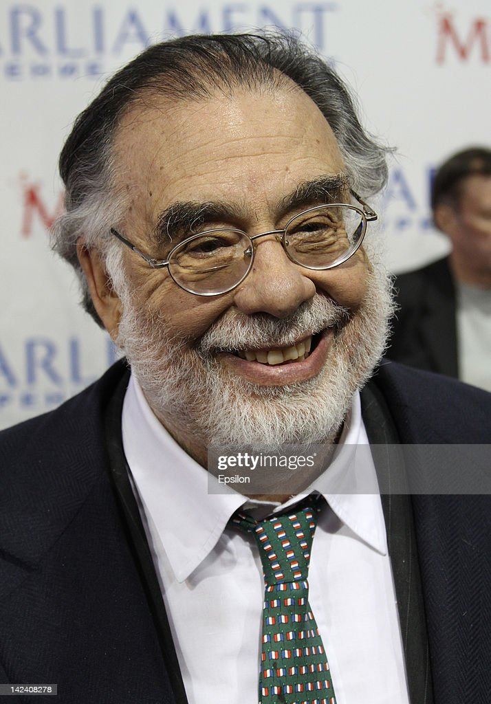 Director, Francis Ford Coppola attends press conference ahead of the 'Twixt' premiere at the Pioneer cinema on April 03, 2012 in Moscow, Russia.